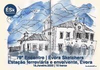 79º Encontro ÉSk | Estação Ferroviária e Envolvente, Évora
