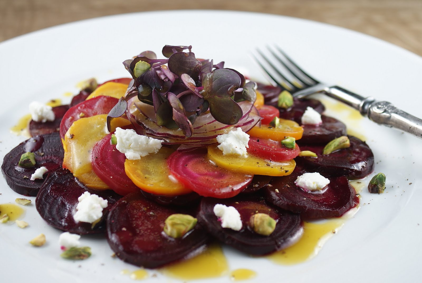 Heirloom Beet Salad for French Fridays