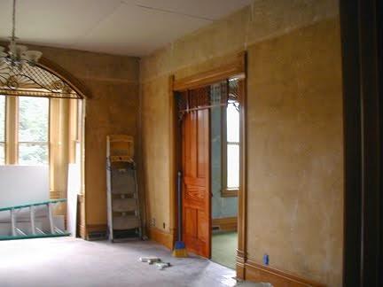 Restoring Living Room