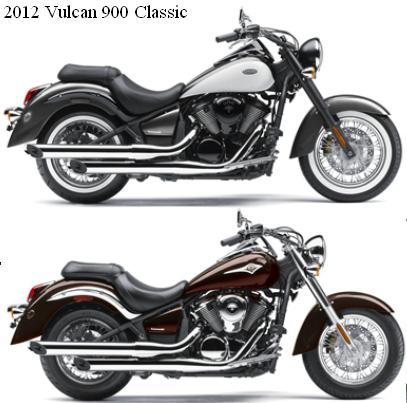 2012 Kawasaki Vulcan 900 colors