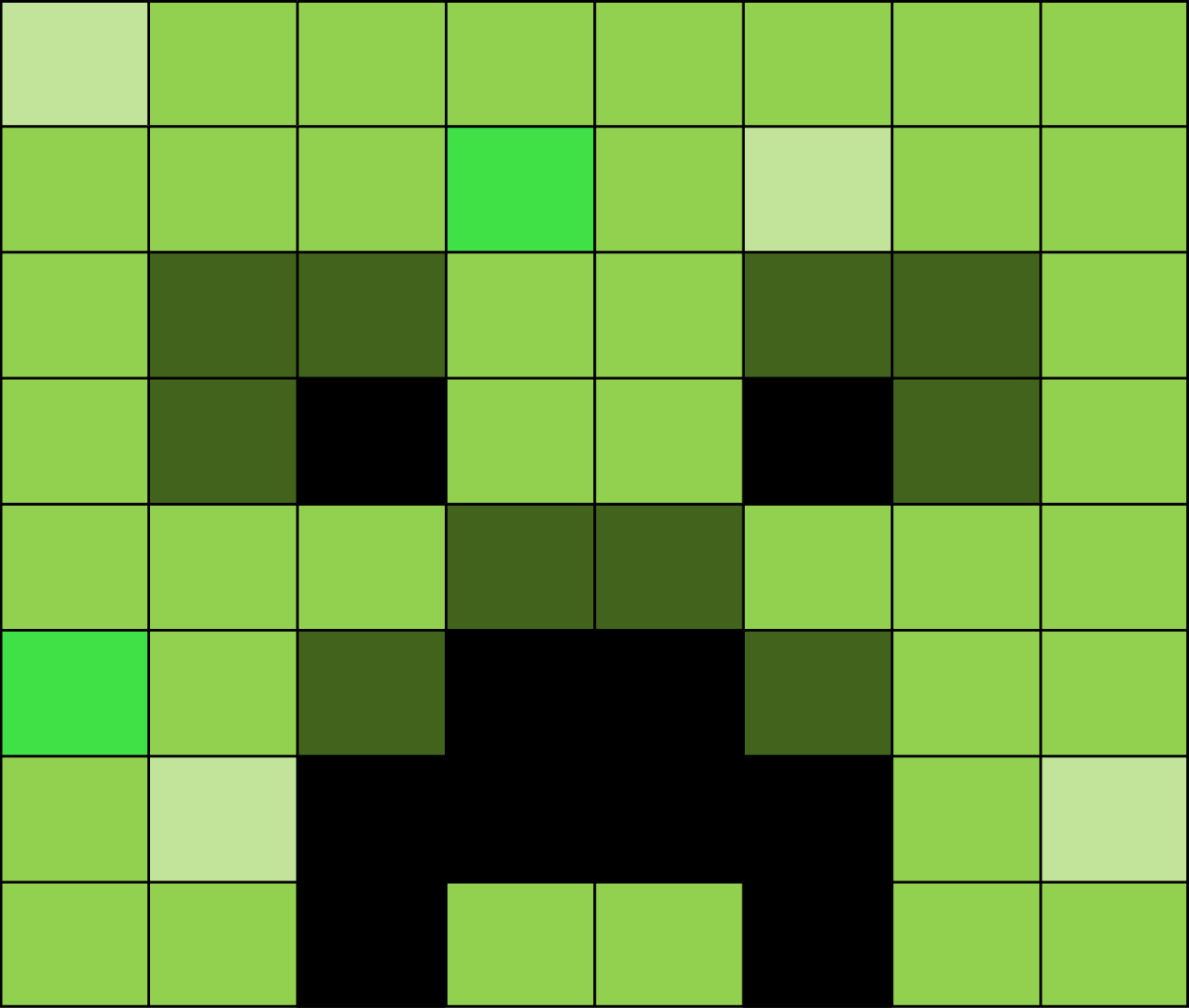 minecraft creeper face wwwimgkidcom the image kid