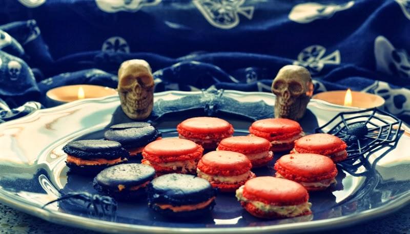 Halloween-Snacks-Macarons