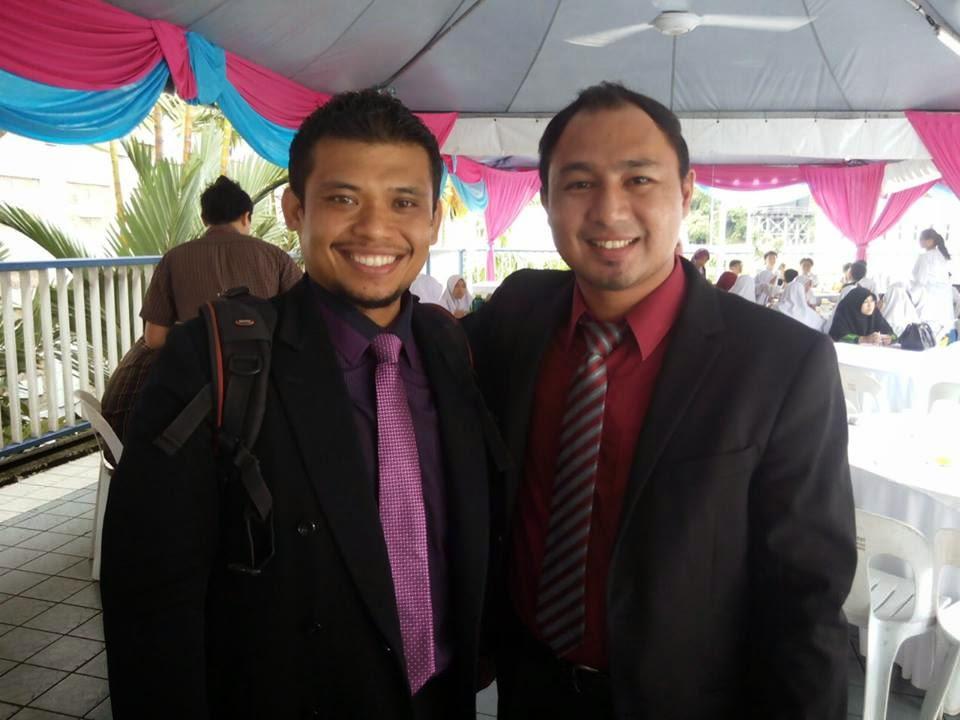 Cikgu hailmi dan Cikgu Azmi dari SMK Bandar Tasik Puteri, Selangor