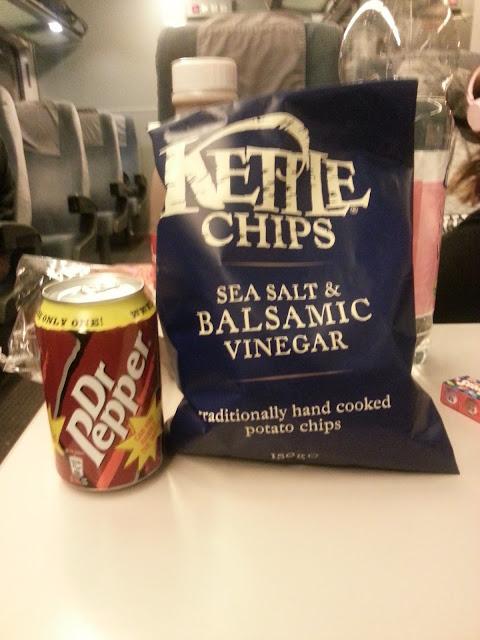 Dr. Pepper und Balsamico Chips