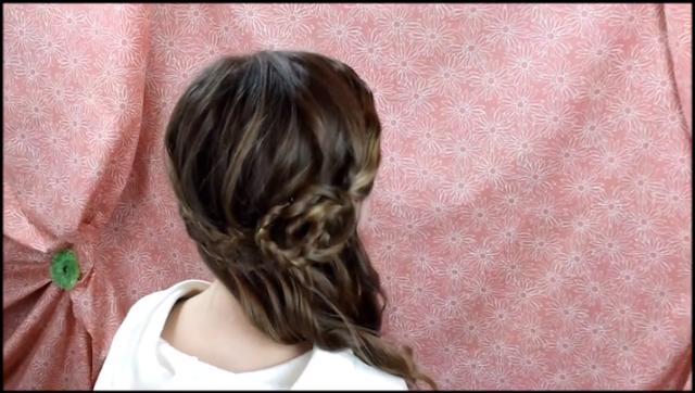 peinados elegantes con trenzas para nias