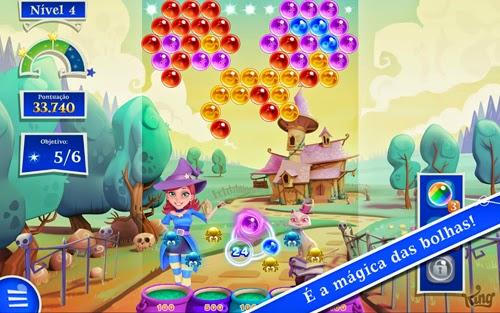 Download Jogo Para Celular Android Bubble Witch 2 Saga Dinheiro Infinito