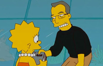 Steve Jobs en Los Simpson