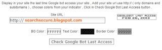 Googlebot last access