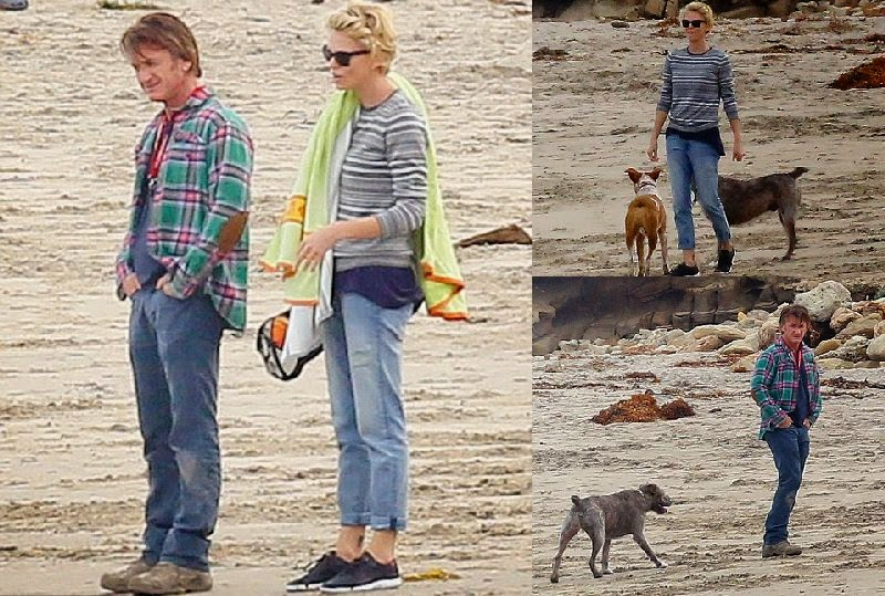 Charlize Theron enjoys her romance with Sean Penn on Malibu getaway