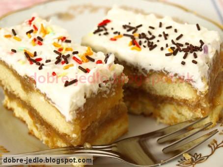 Nepečený jablkový koláč - recepty