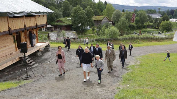 Norwegian Royals Attended The Saint Olav Festival 2015