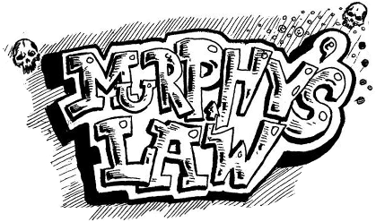 định luật bánh bơ, định luật Murphy, kiến thức, số nhọ, đen đủi