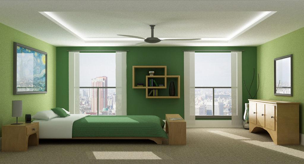 greenfamily kamar tidur