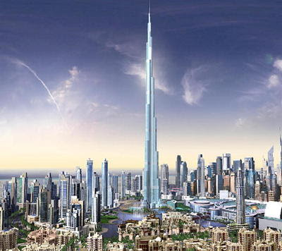 Dubai Tallest Building Tower In The World Burj Tower
