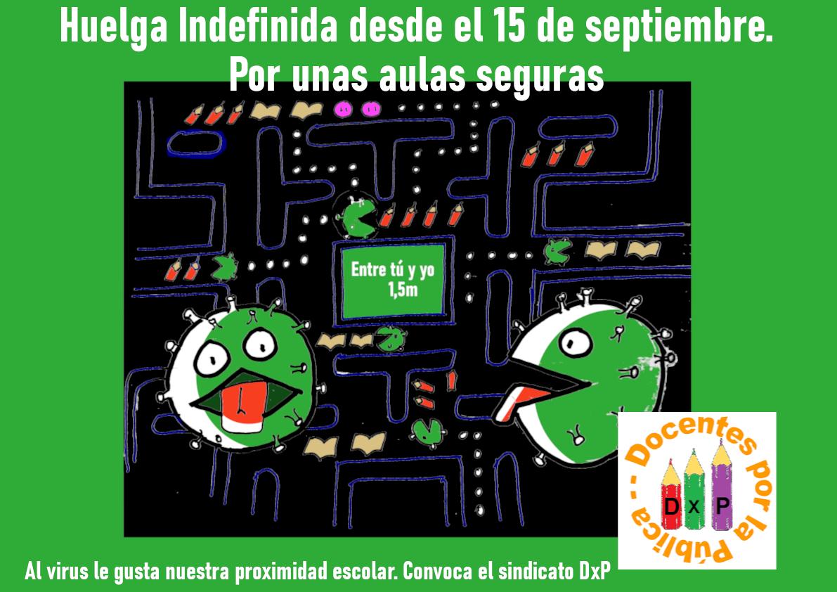 Convocatoria Huelga Educación Andalucía