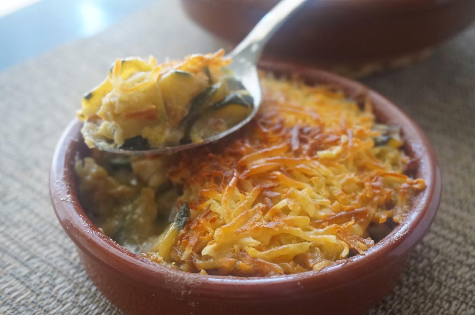 Cocinando con montse pastel de bacalao y calabac n - Cocinar bacalao desalado ...
