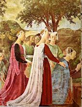 Piero Della Francesca  la Reine de Saba
