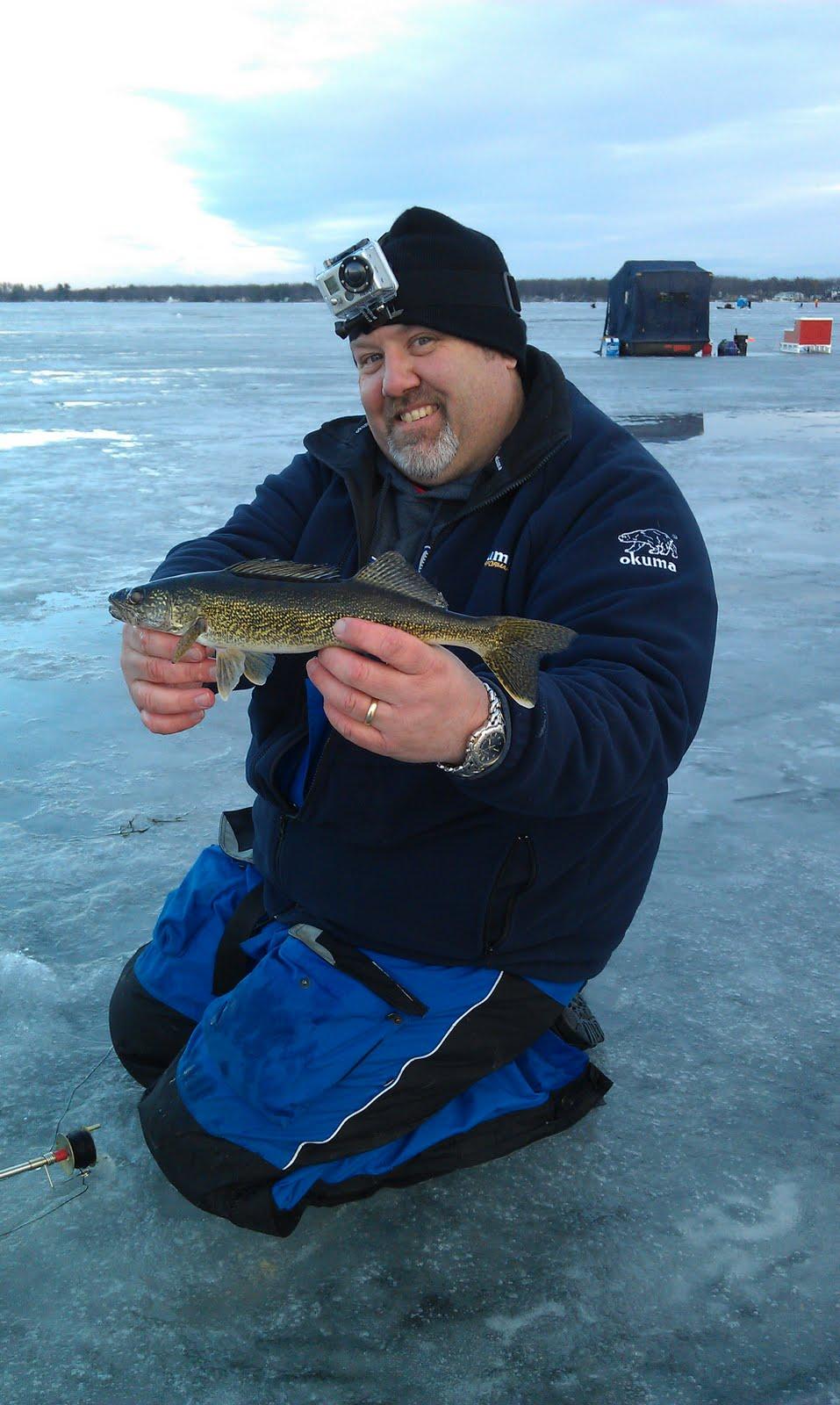Houghton lake walleye report houghton lake east bay ice for Ice fishing reports