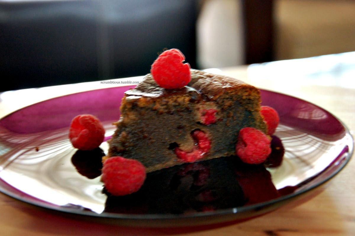 Chocolate Raspberry Dessert Cake Scrumbtious