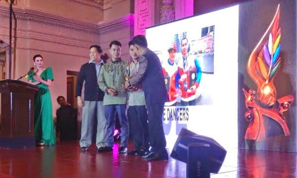 Xtreme Dancers received Ani ng Dangal award