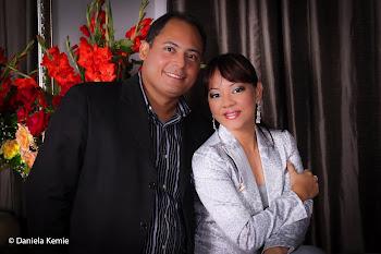 Daniela Kemie e Rogério Coelho
