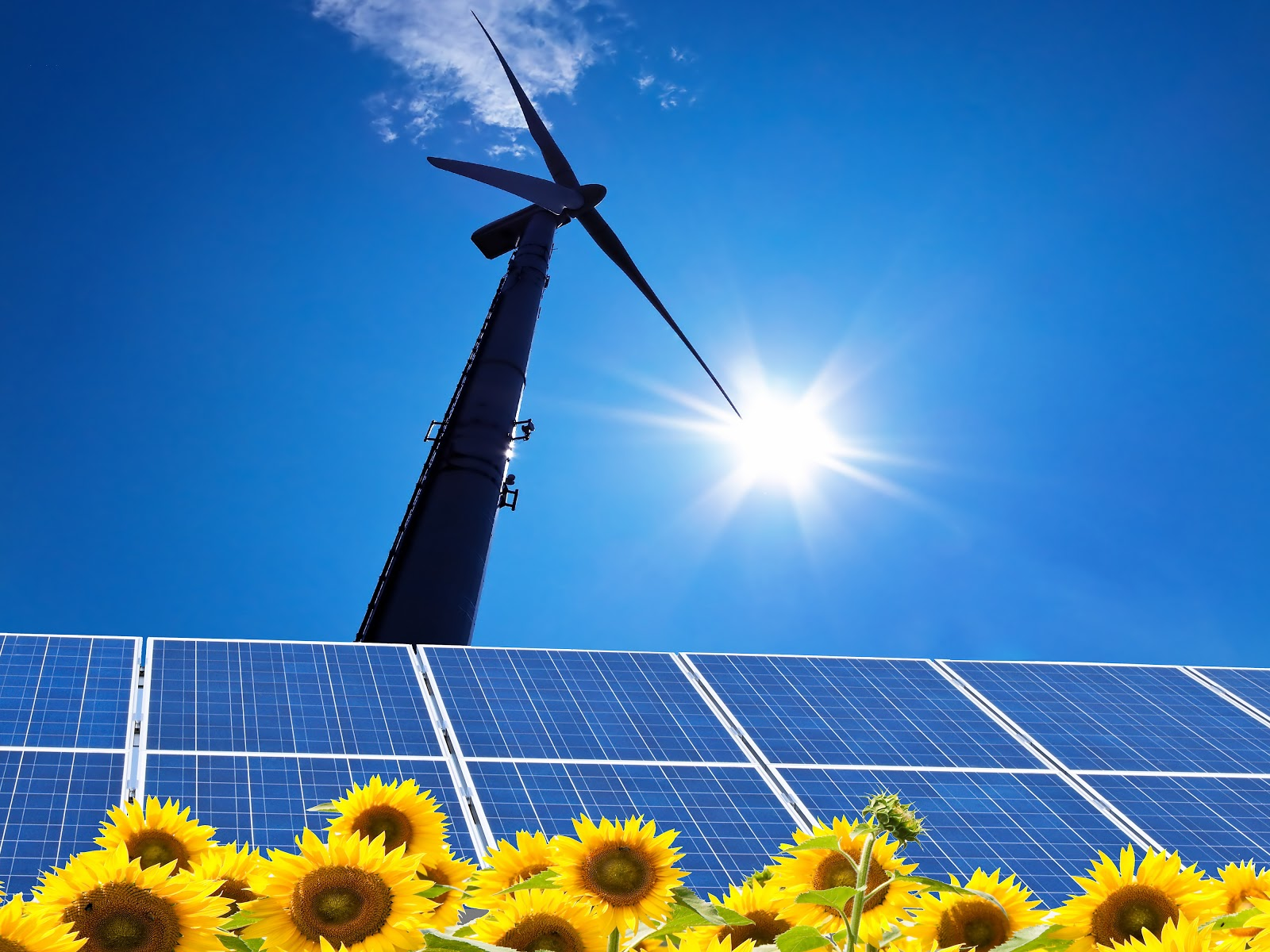 Interesting energy facts: Solar and wind – Current status facts