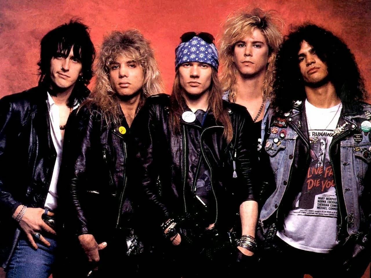 Profil dan Biografi Lengkap Guns N' Roses