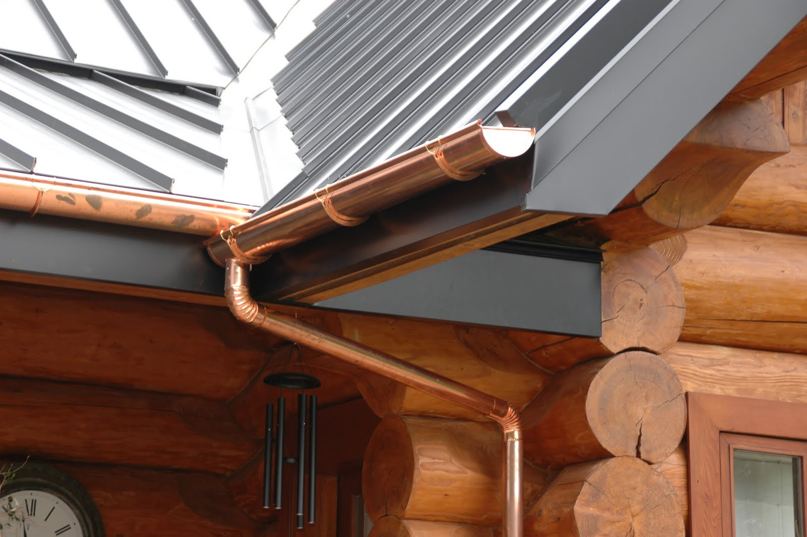 I love metal roofs sterling roof and copper gutters true gems solutioingenieria Image collections