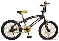 1 Sepeda BMX Pacific Black Magic Free Style 20 Inci