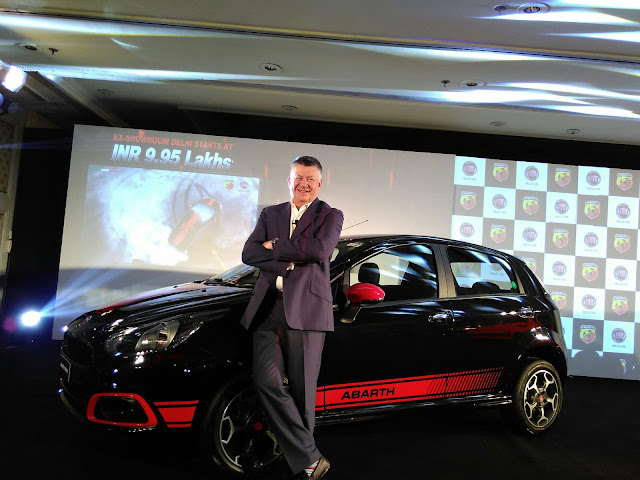 Abarth Punto Evo India Launch Fiat