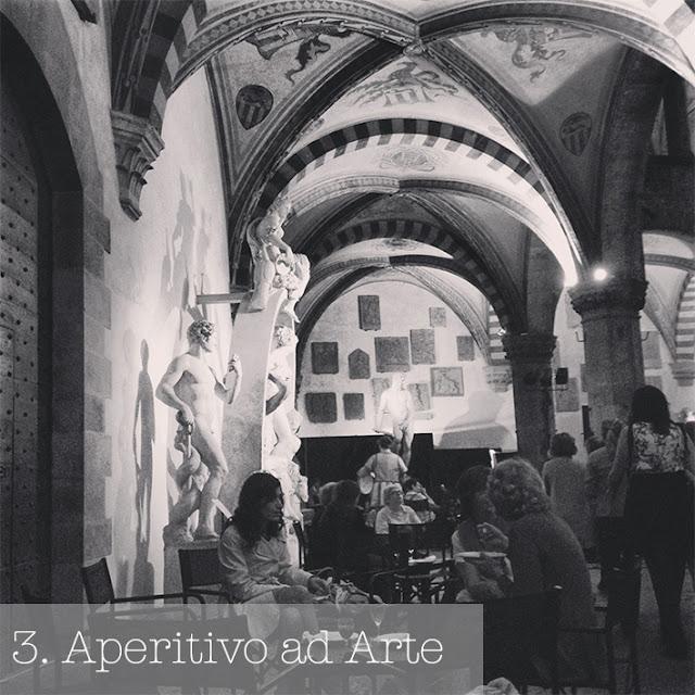 aperitivo ad arte bargello museum