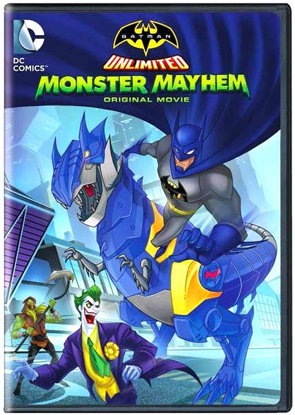 Batman Unlimited Monster Mayhem 2015 BRRip 480p 250mb ESub