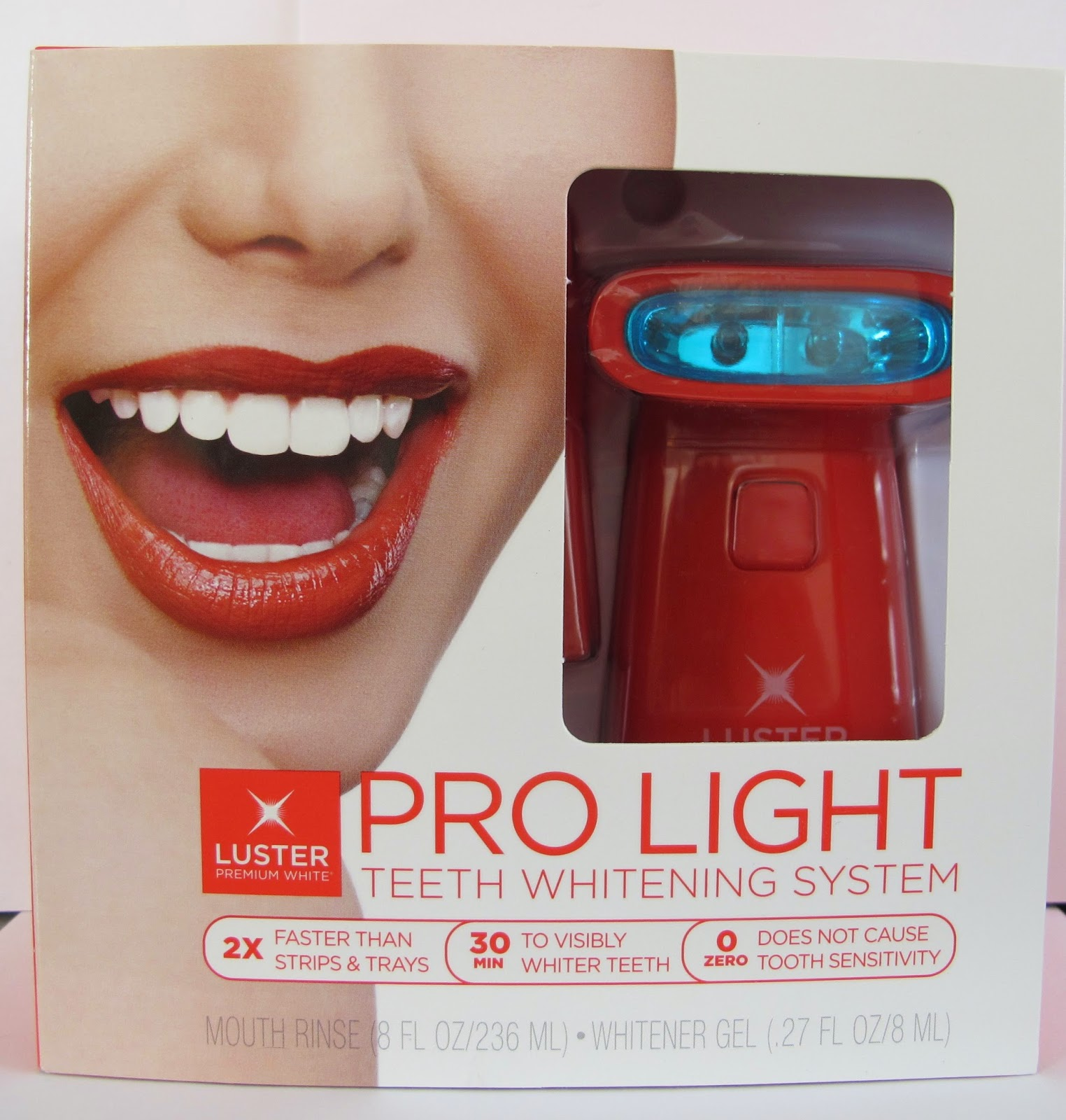 Get Noticeably Whiter Teeth Before Your Valentineu0027s Day Date Tomorrow With  Luster Premium White Pro Light And Win A Pro Light Set!