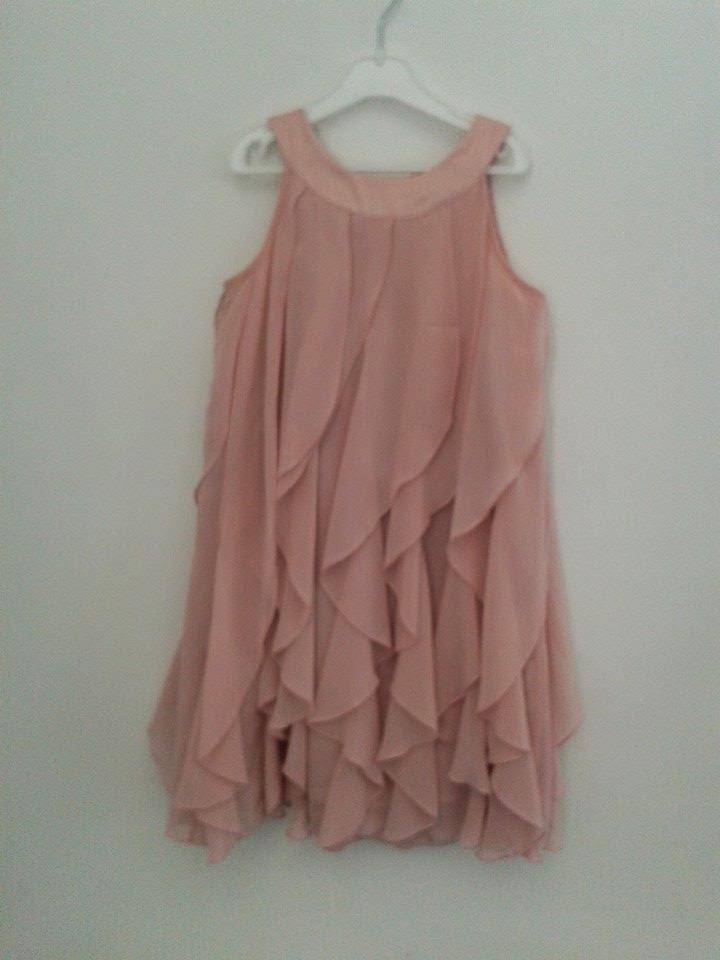 Rastrillo crema nata vestido rosa empolvado hym - Color rosa empolvado ...