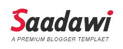 Saadawi - A PREMIUM BLOGGER TEMPLAET