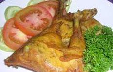 resep masakan indonesia bebek goreng lamongan spesial sedap, enak, lezat