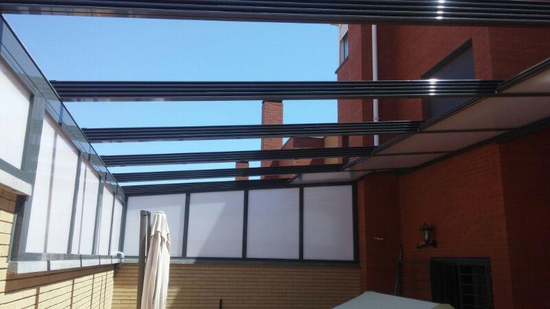 Techo m vil de policarbonato cerramientos almer a 611 - Moviles de techo ...