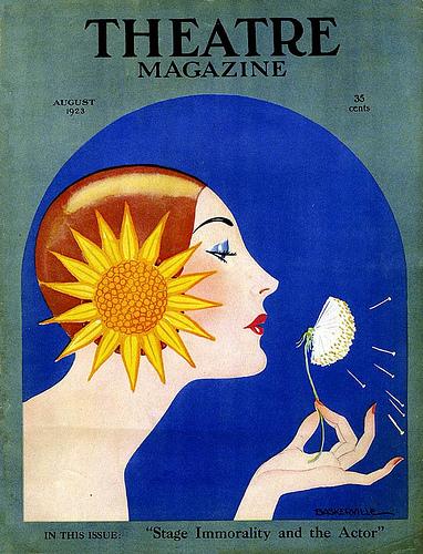 theatre magazine cover baskerville