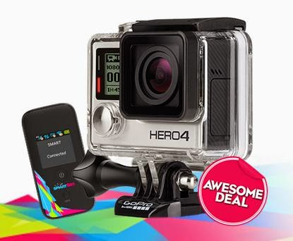 GoPro HERO4 Silver Now Available at Smart Bro Gadget Plus Plan