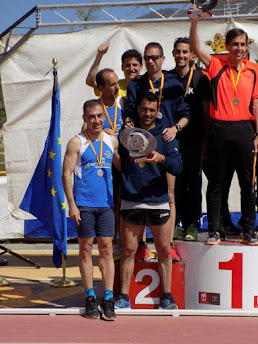 Subcampeones de España de Cross M40, con oro y bronce individual (Elda 2017)