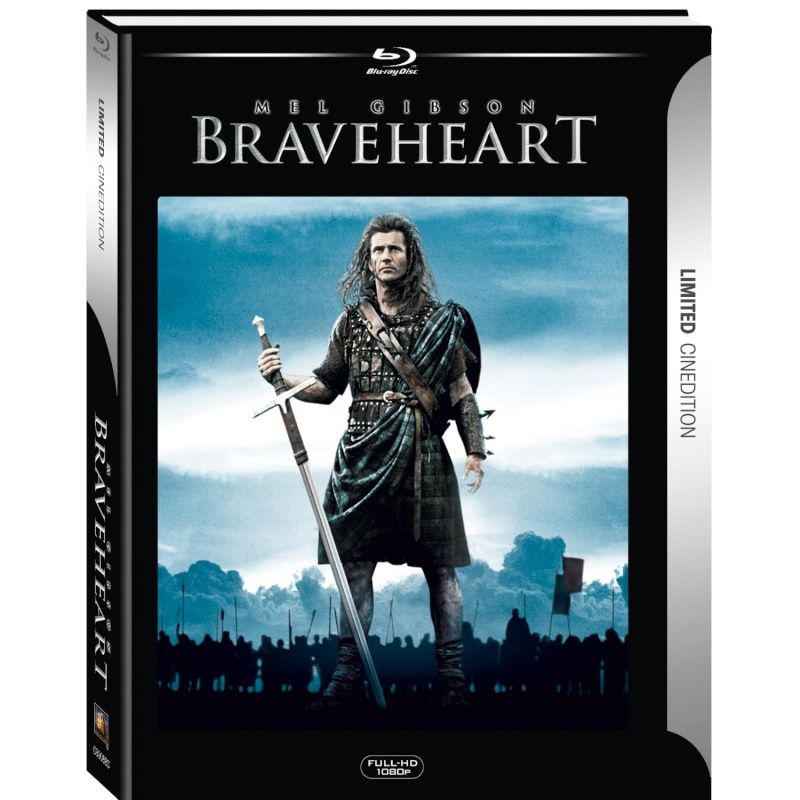 Braveheart Blu-ray Dvd Case Box