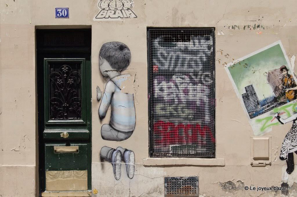 Paris - Butte aux Cailles - street art - Seth