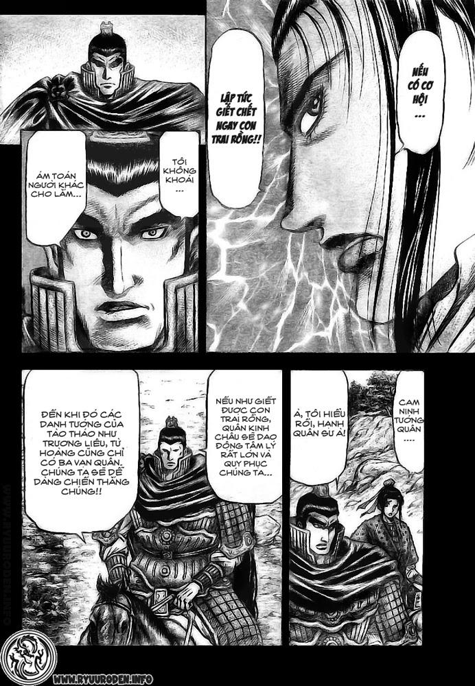 Chú Bé Rồng - Ryuuroden chap 173 - Trang 10
