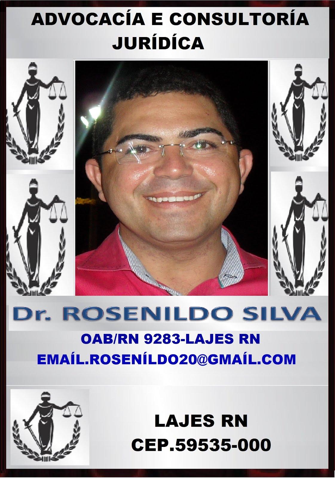 ADVOGADO DR ROSENÍLDO SÍLVA