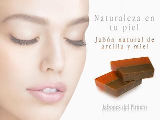 Jabón Natural de Arcilla Verde y Miel