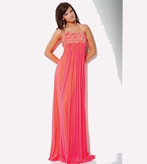 Pretty light purple prom dresses