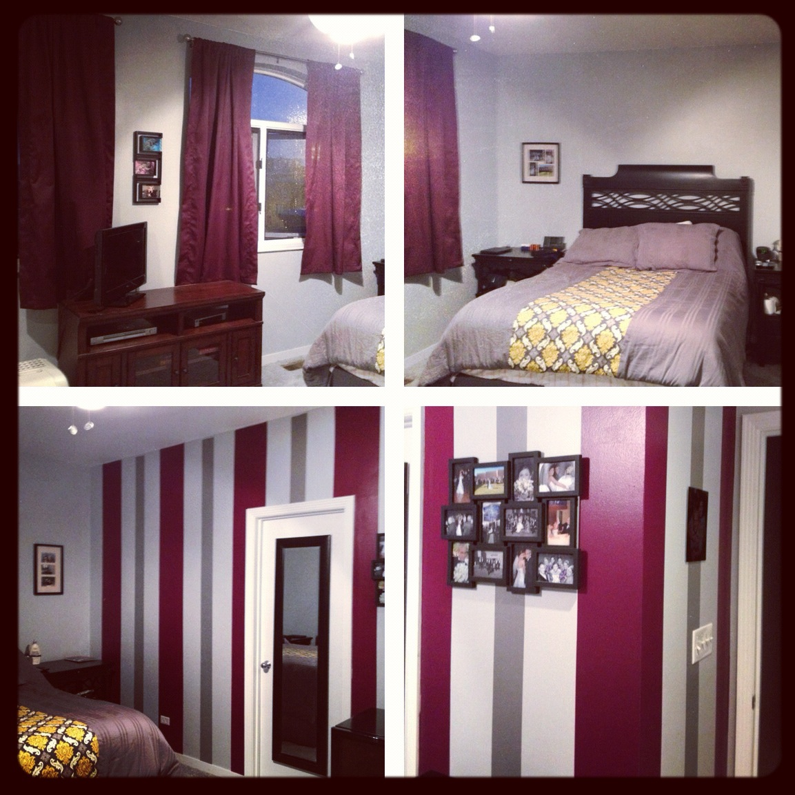 Plum Colors For Bedroom Walls Collage 2jpg