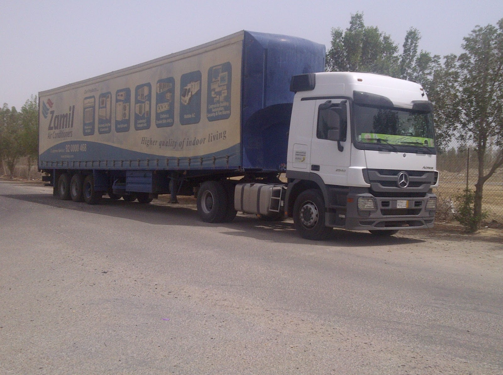 Trucks in saudi arabia july 2012 for Mercedes benz saudi arabia