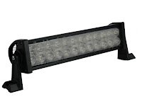 High intensity LED light bars are the perfect lighting choice for any sandrail, jeep, or other off-road vehicle.