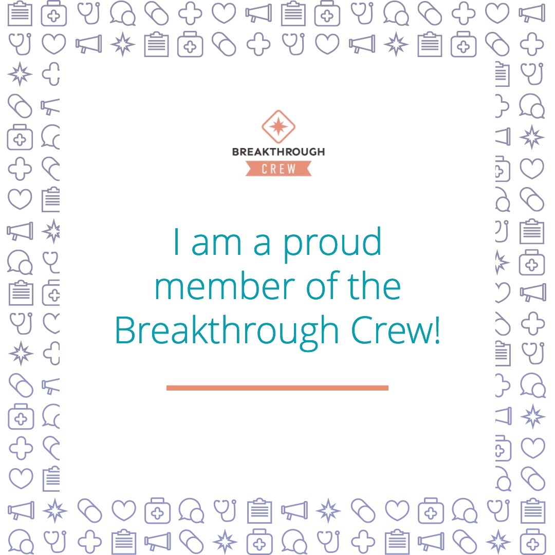 I love the Breakthrough Crew!